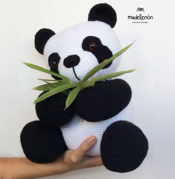 Receita Urso Panda Amigurumi em PDF no Elo7 | GatoFio Ateliê (10CCD58) | 600x588
