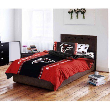 NFL Atlanta Falcons Bed in a Bag Complete Bedding Set, Multicolor