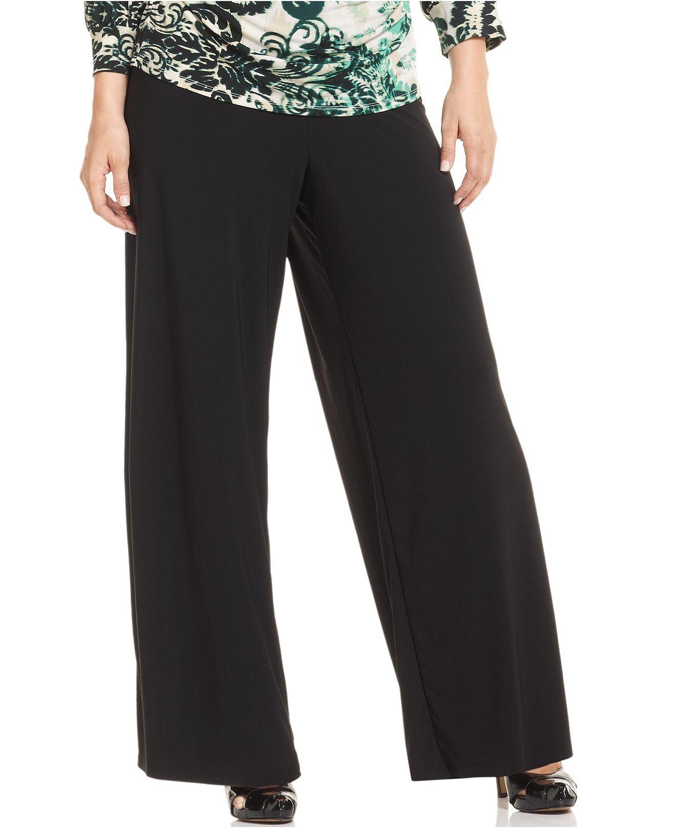 7d48f828926 Alfani Plus Size Pants