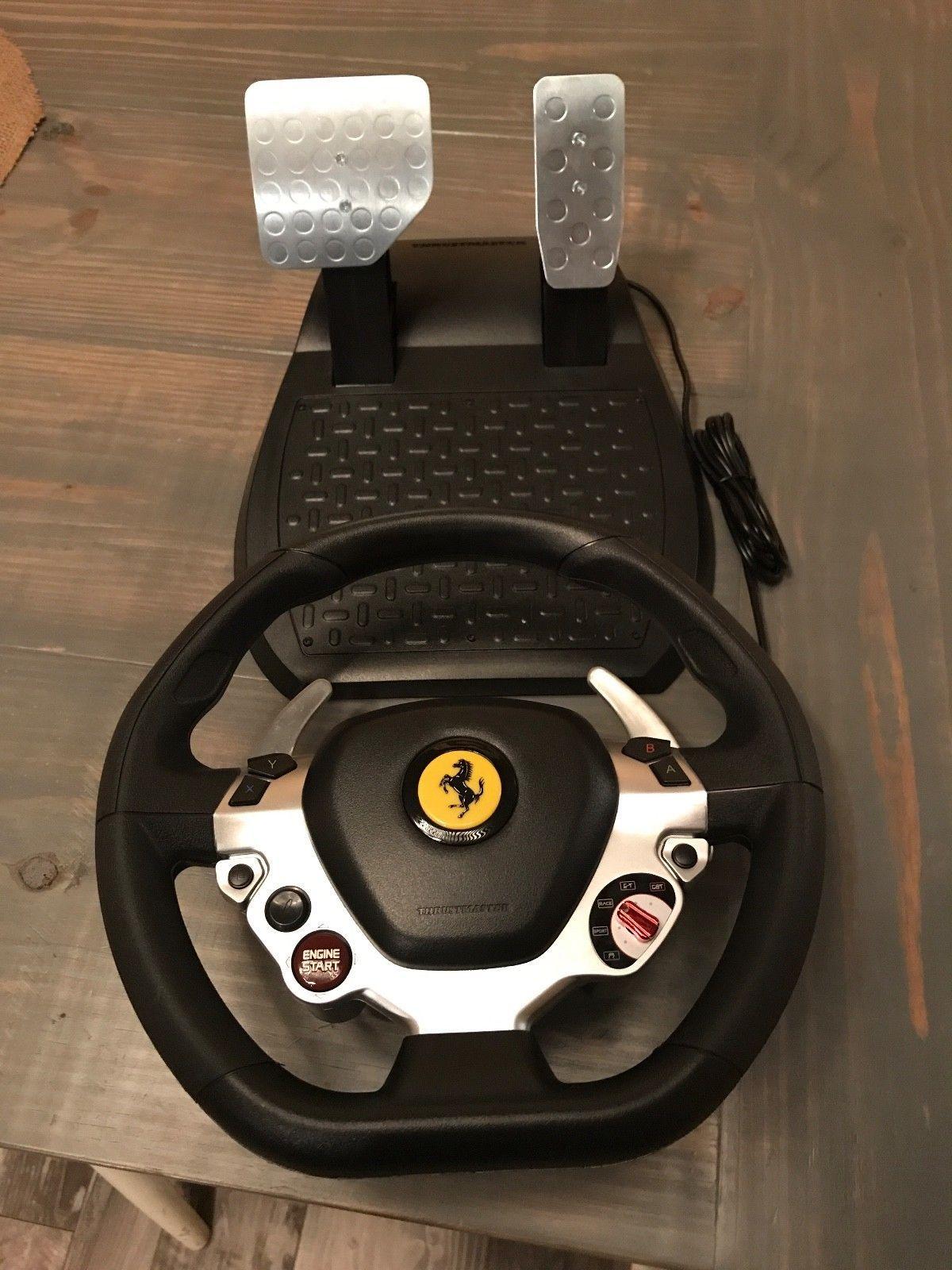 Car decoration toys  Cool Great Thrustmaster TX Racing Wheel Ferrari  No Base Xbox
