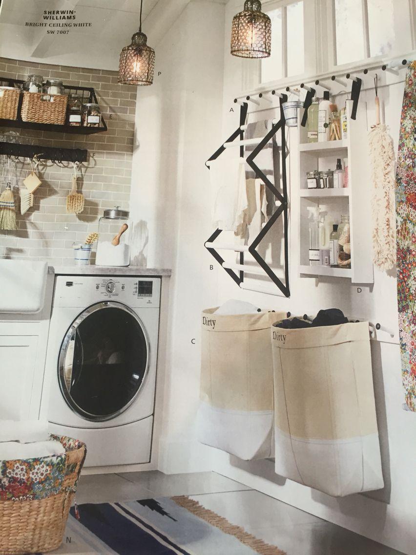Pottery Barn Laundry Room Laundry Room Home Appliances Laundry