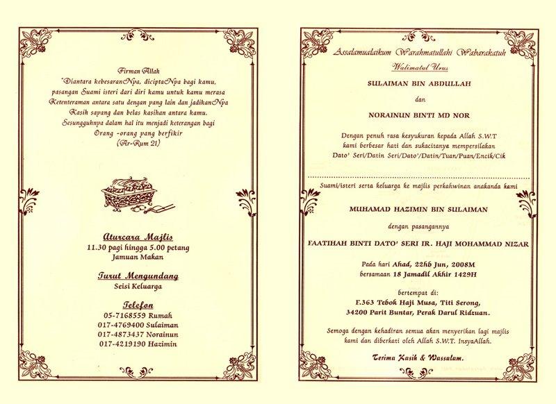 Paper Crafts Diy Kad Kahwin Wedding Cards