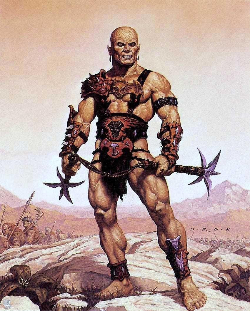 Resultado de imagen de athasian gladiator