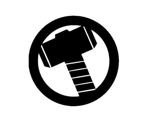 Thor Vinyl Decal Sticker   Products   Avengers symbols ...