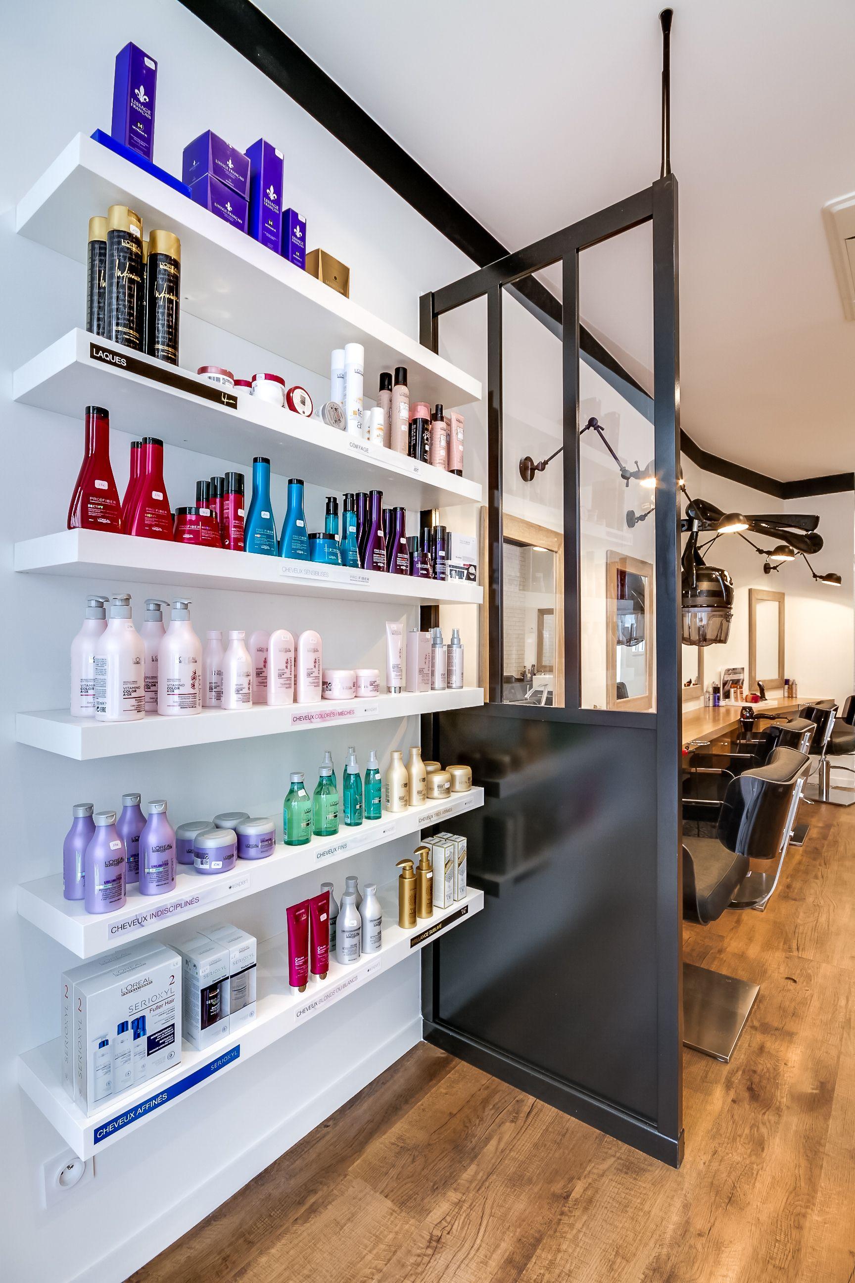 Rénovation totale d\'un Salon de coiffure. Paris. Espace retail ...