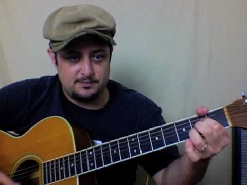 Southern Blues Rock Allman Brothers Guitar Lesson - Sweet Melissa ...