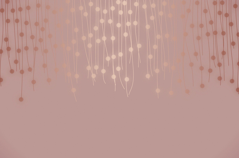 Rose Gold Lights Rose Gold Aesthetic Rose Gold Lights Gold Wallpaper Background