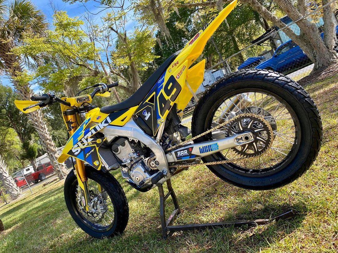 Suzuki Rmz450 Flat Tracker Motorcycle Tracker Motorcycle Suzuki Flat Tracker