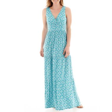 a34f804d4b St. John s Bay® Sleeveless Tiered Maxi Dress found at  JCPenney  ad ...