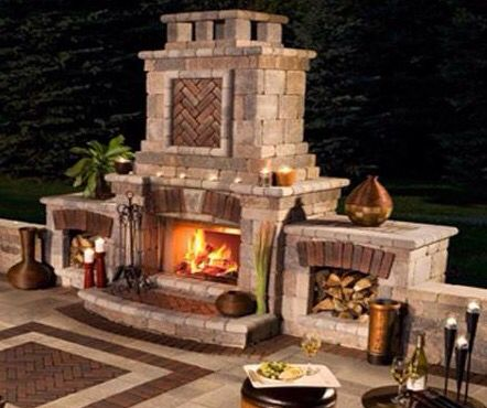 Bbq Fireplace Outdoor Fireplace Outdoor Living Outdoor Living