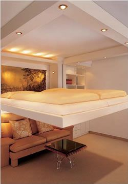 Elevator Bed Comes Down Form The