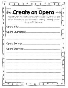 Beth's Music Notes: Mozart | Music Education Ideas | Pinterest ...