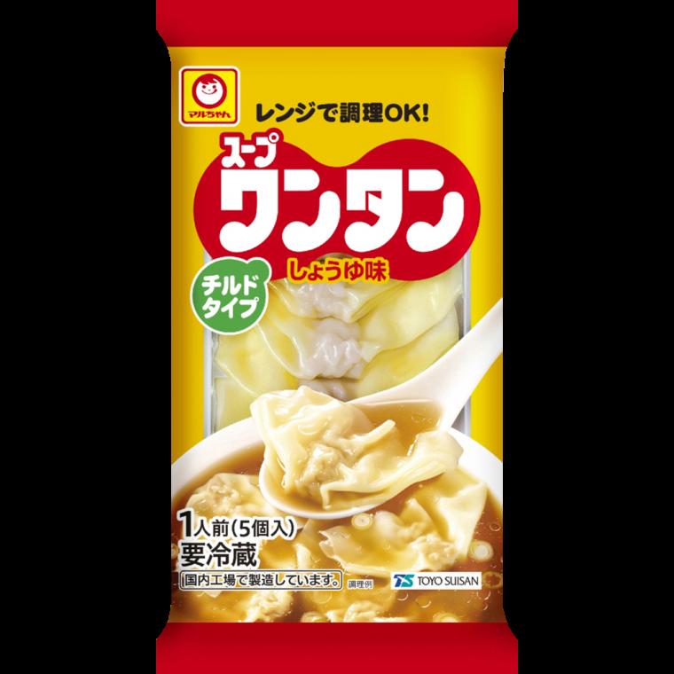 Photo of スープワンタン しょうゆ味 1人前 | 商品情報 – 東洋水産株式会社