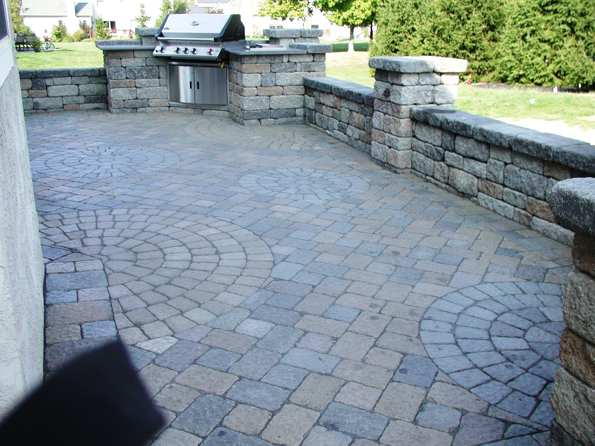 Paver stone... All done by Roark Remodeling