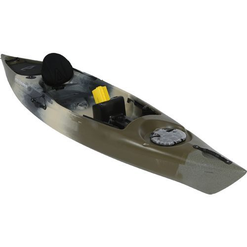 Lifetime emotion mojo 12 5 sit on top camo kayak for Emotion fishing kayak