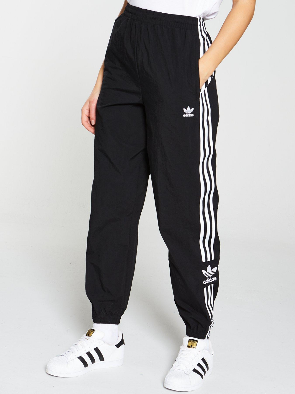 Adidas Originals SST Track Pants with Cotton worn by