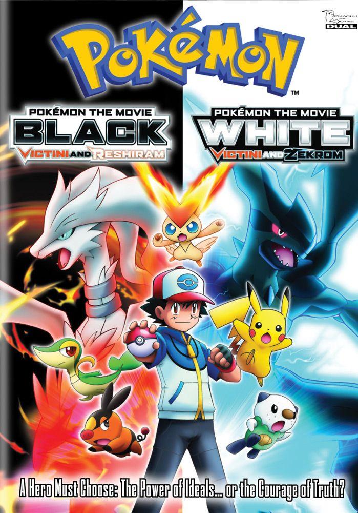Pokemon Movie 14 Dvd D Black Victini Reshiram White Victini Zekrom Rightstuf2014 Black Pokemon Pokemon Movie Black