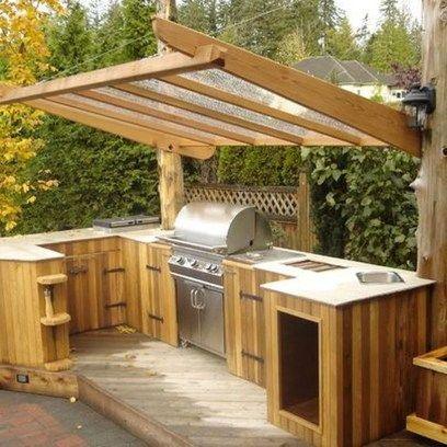 The Best Outdoor Kitchen Design Ideas 01 | Outdoor Dining ...