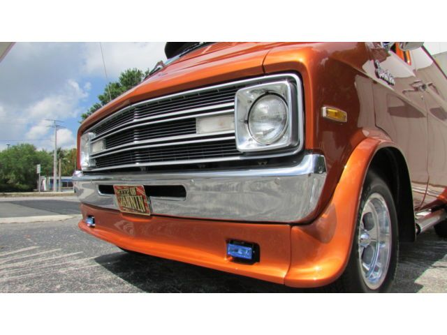 1977 Dodge Street Van Custom Show Van