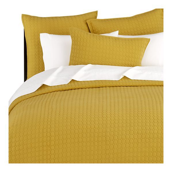 Mustard Yellow Bedding | Except That, When It Arrived, Andrew Said That It  Was