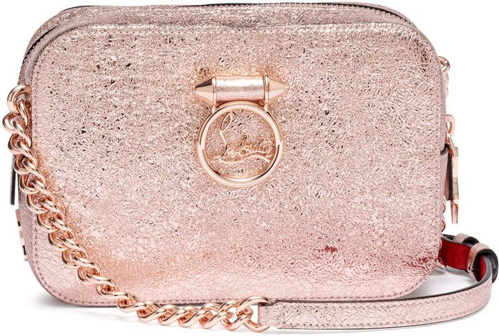 34a53fd9171 Christian Louboutin Rubylou mini rose gold leather bag | 2018 Style ...