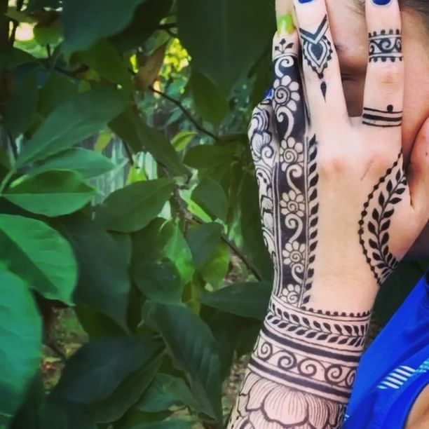One More Pic Of This Gorgeous Jagua Henna Stain I Mixed Up A Few