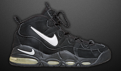 hot sale online 85dae 03263 Nike Air Max Uptempo 95 Black | Flashin back to the 80s and ...