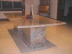 17 Best images about Different Ideas for Granite Table Top on Pinterest |  Elle decor, Fire pit table and