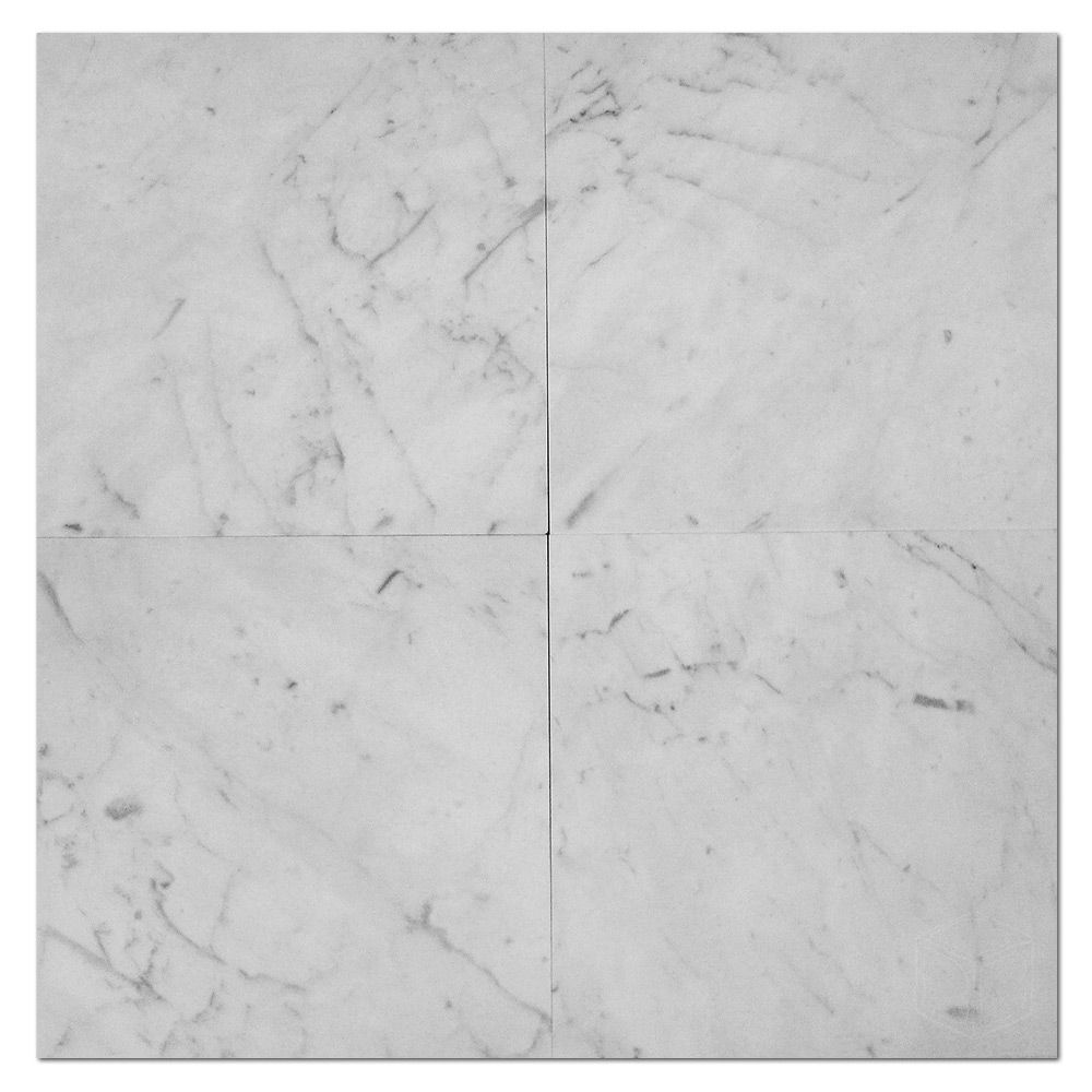 12x12 Bianco White Carrara Travertine Floor Tile Tumbled Marble Tile Marble Mosaic Tiles