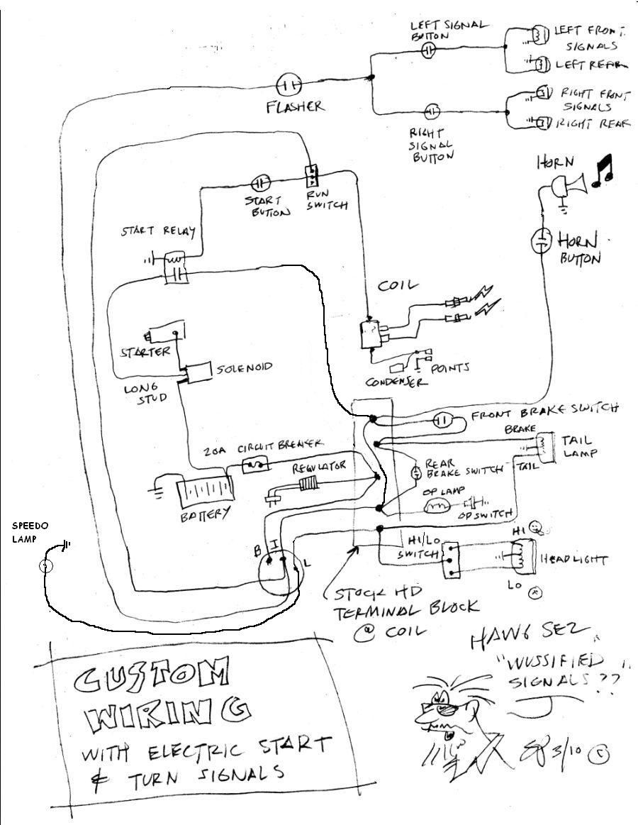 55 Unique Shovelhead Starter Relay Wiring Diagram in 2020