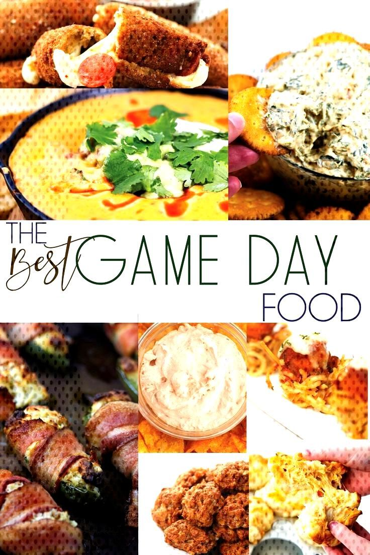The Best Game Day Food A collection of the best game day food for your next football party or any g