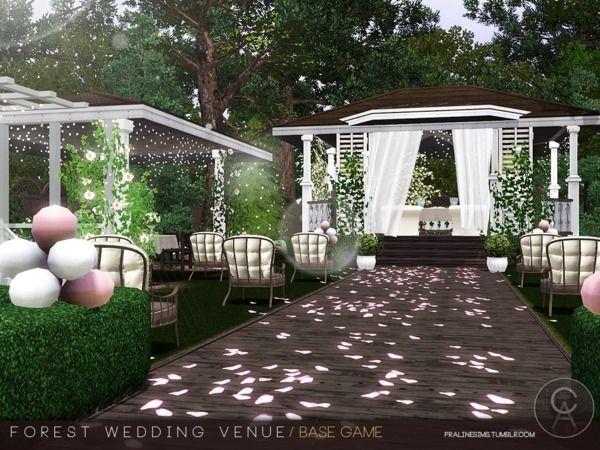 Pralinesims' Forest Wedding Venue | Forest wedding venue