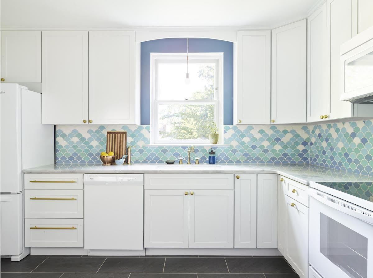 How Much Will My Tile Cost Backsplash For White Cabinets White