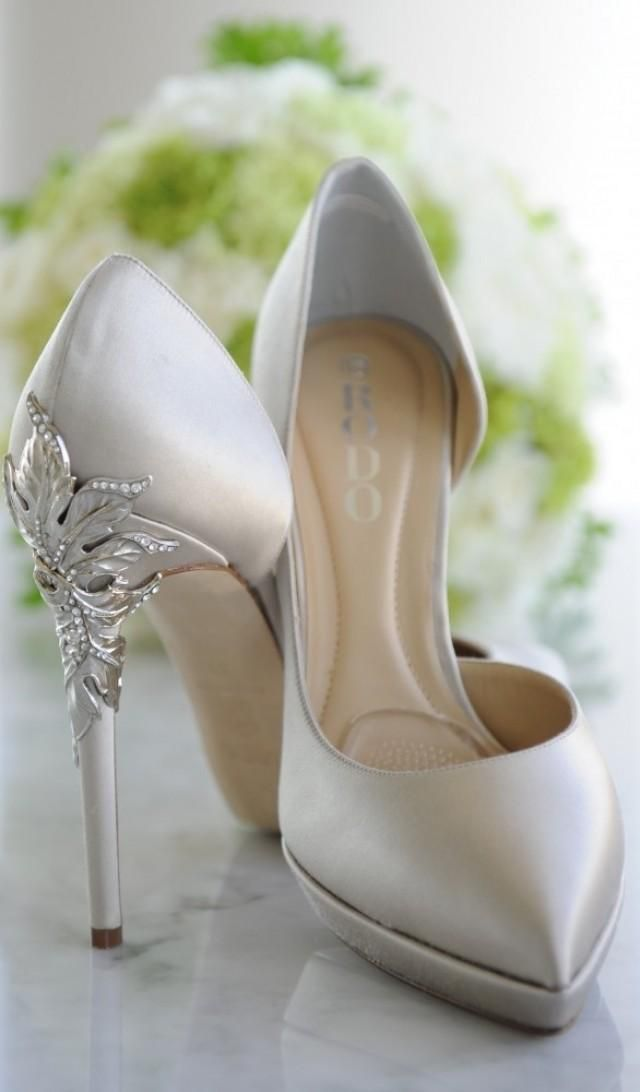See More About Silver Wedding Shoes And