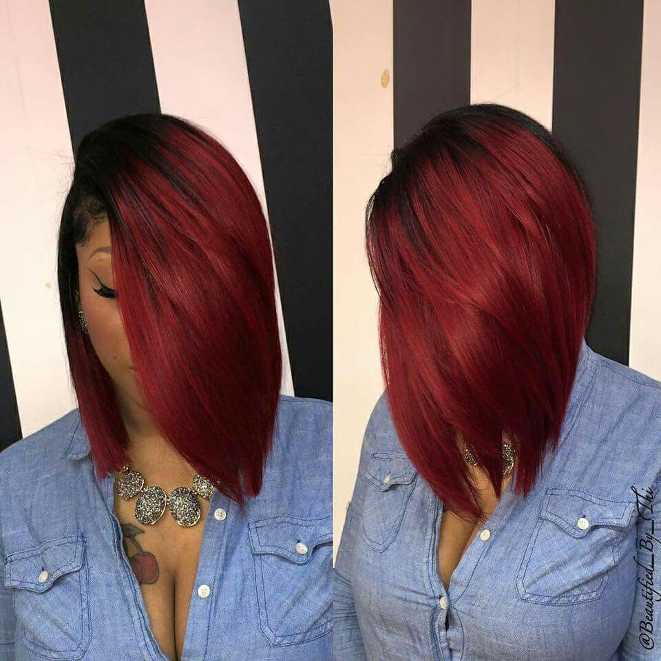 Pin by tiffany stewart on hair pinterest hair style bobs and