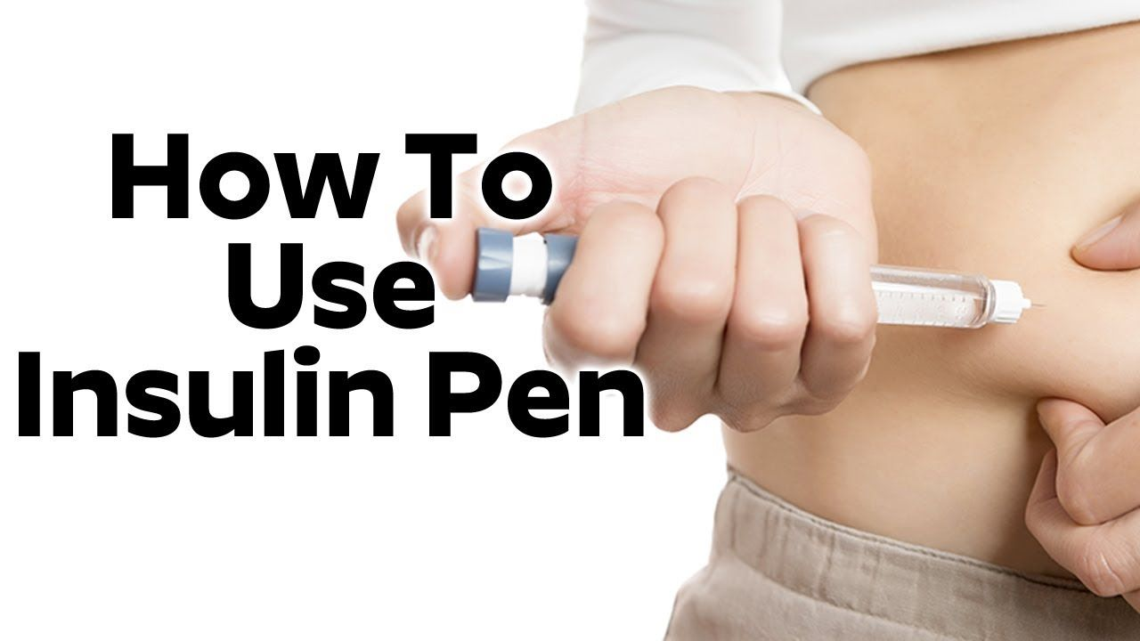 How To Use Insulin Pen Men Health Tips Insulin Simple Health