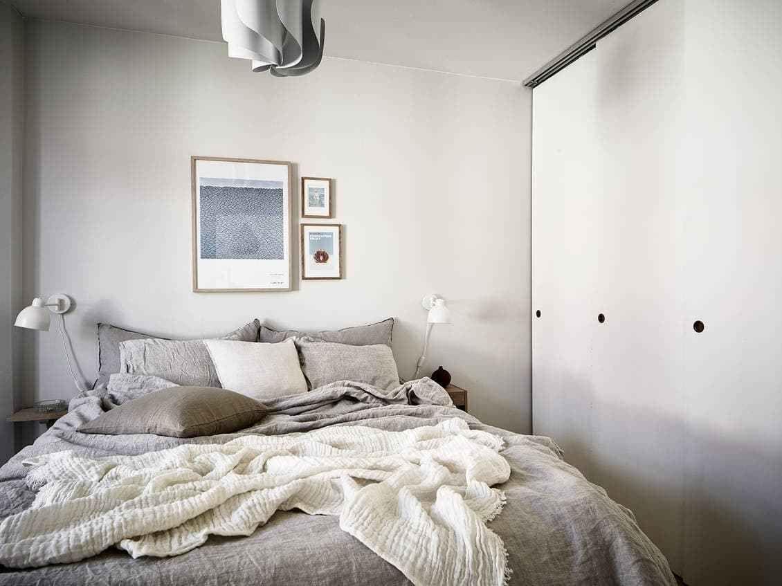 Blanco roto o natural para las paredes Tonos de blanco