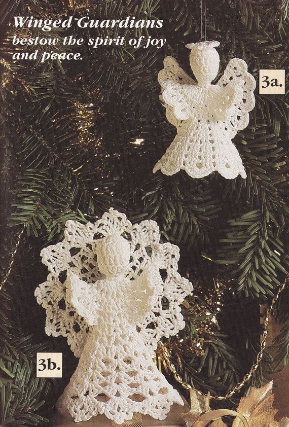 Christmas Ornament Crochet Patterns - Enchanted Christmas ...