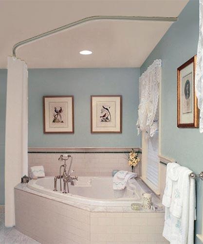 corner tub shower bathtub shower combo