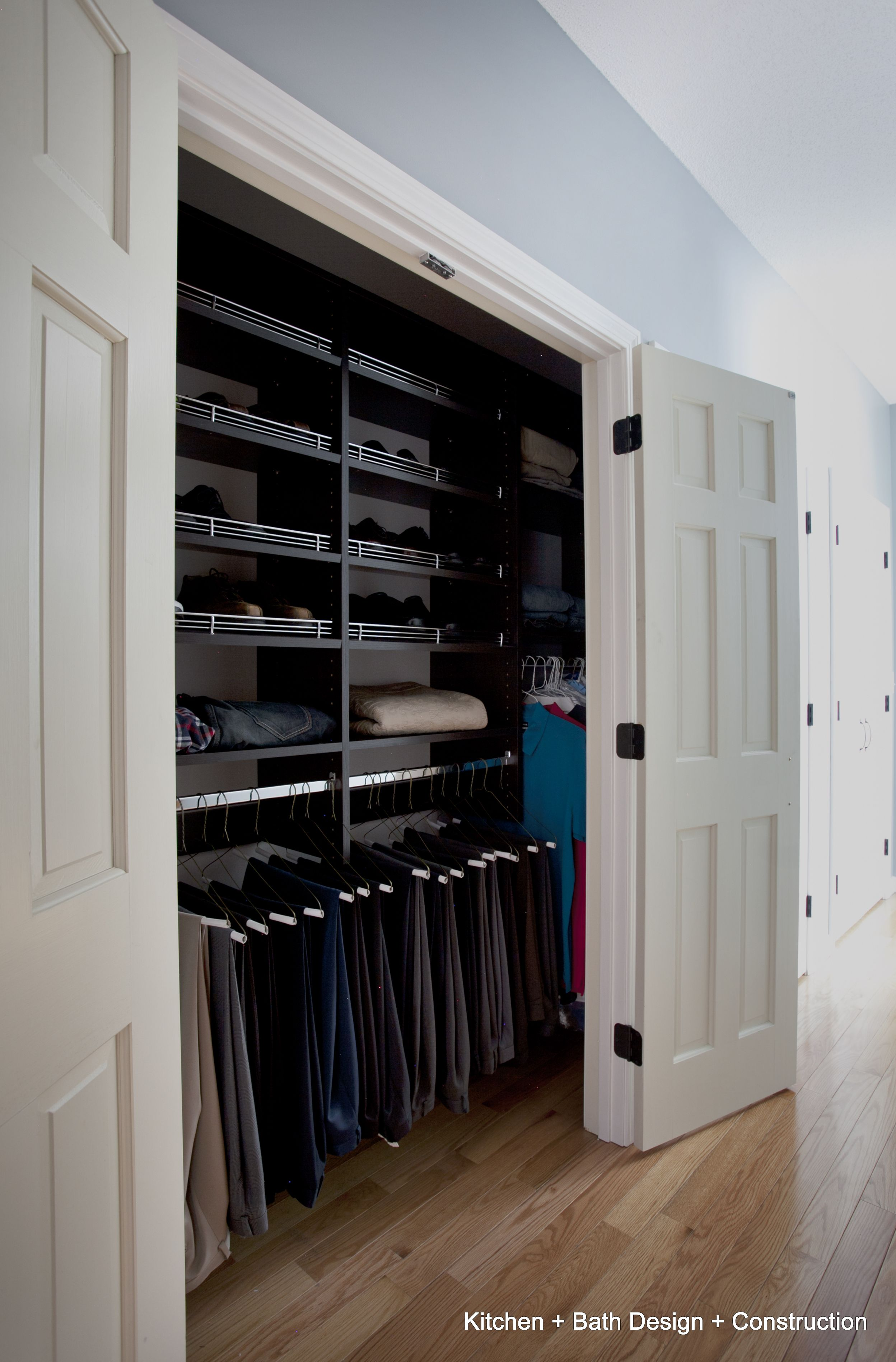 Superbe A Closet Redesign In A Master Bedroom Suite. The Built Ins Were Designed  And Installed To Coordinate With The Other Cabinetry In This Beautiful  Space.