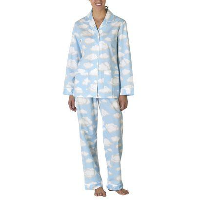 Nick & Nora® Poplin Cloud Nine Pajama Coat Set