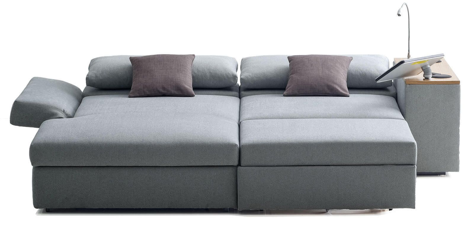 Corner Sofa Bed Contemporary Textile Confetto By Franz