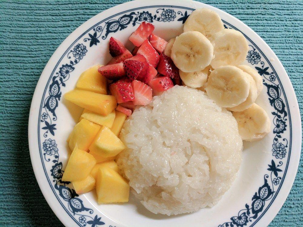 Sweet Coconut Sticky Rice | Recipe | Coconut sticky rice ...