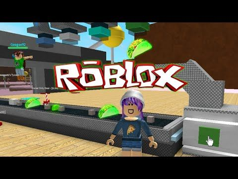 Roblox Candy Factory Tycoon Glowing Green Tacos Youtube