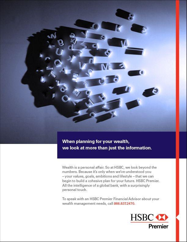 HSBC AD - Google Search   good ad   Banks ads, Print ads
