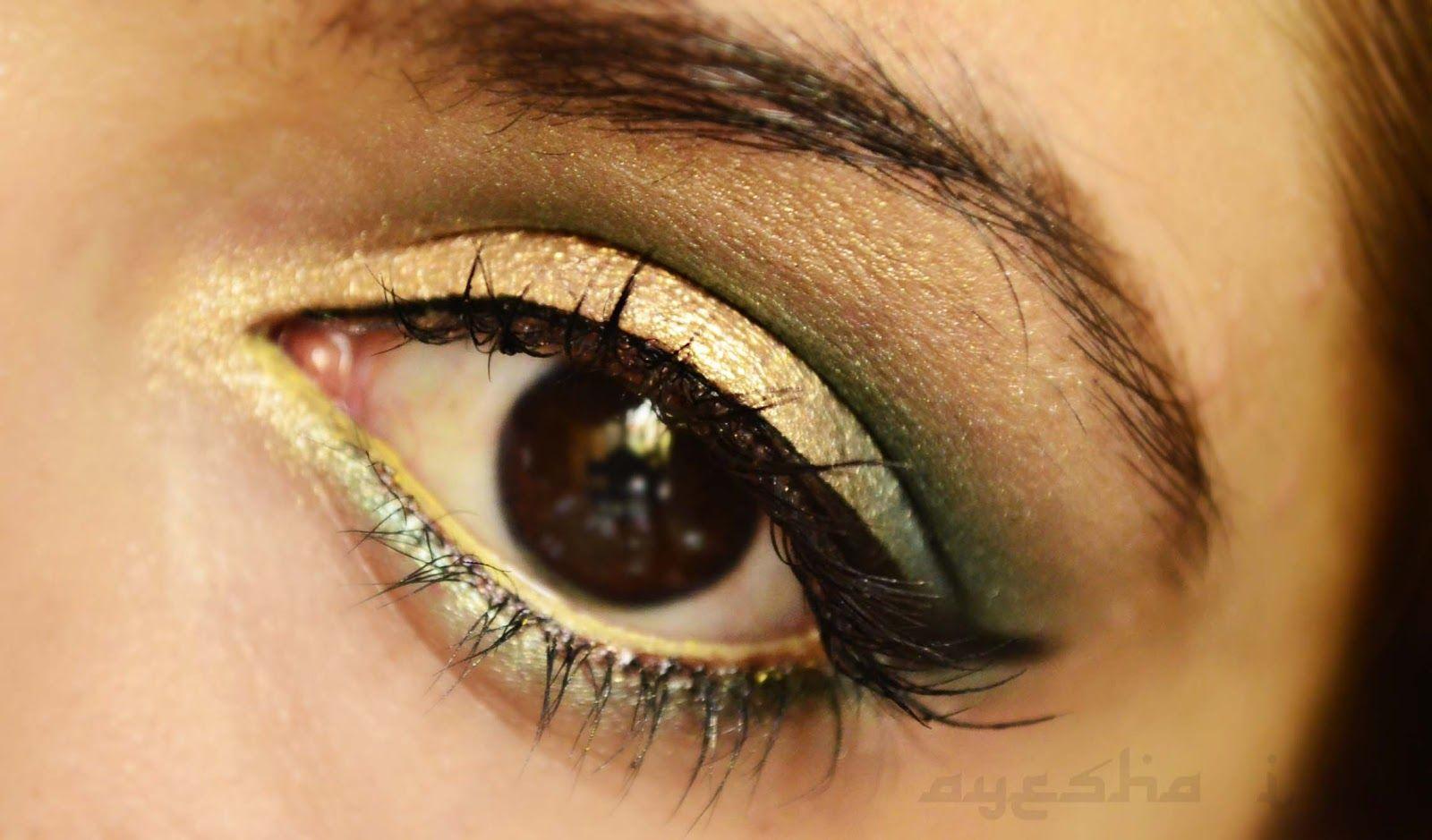 Ayesha's Blog: TUTORIAL: Green Gold.