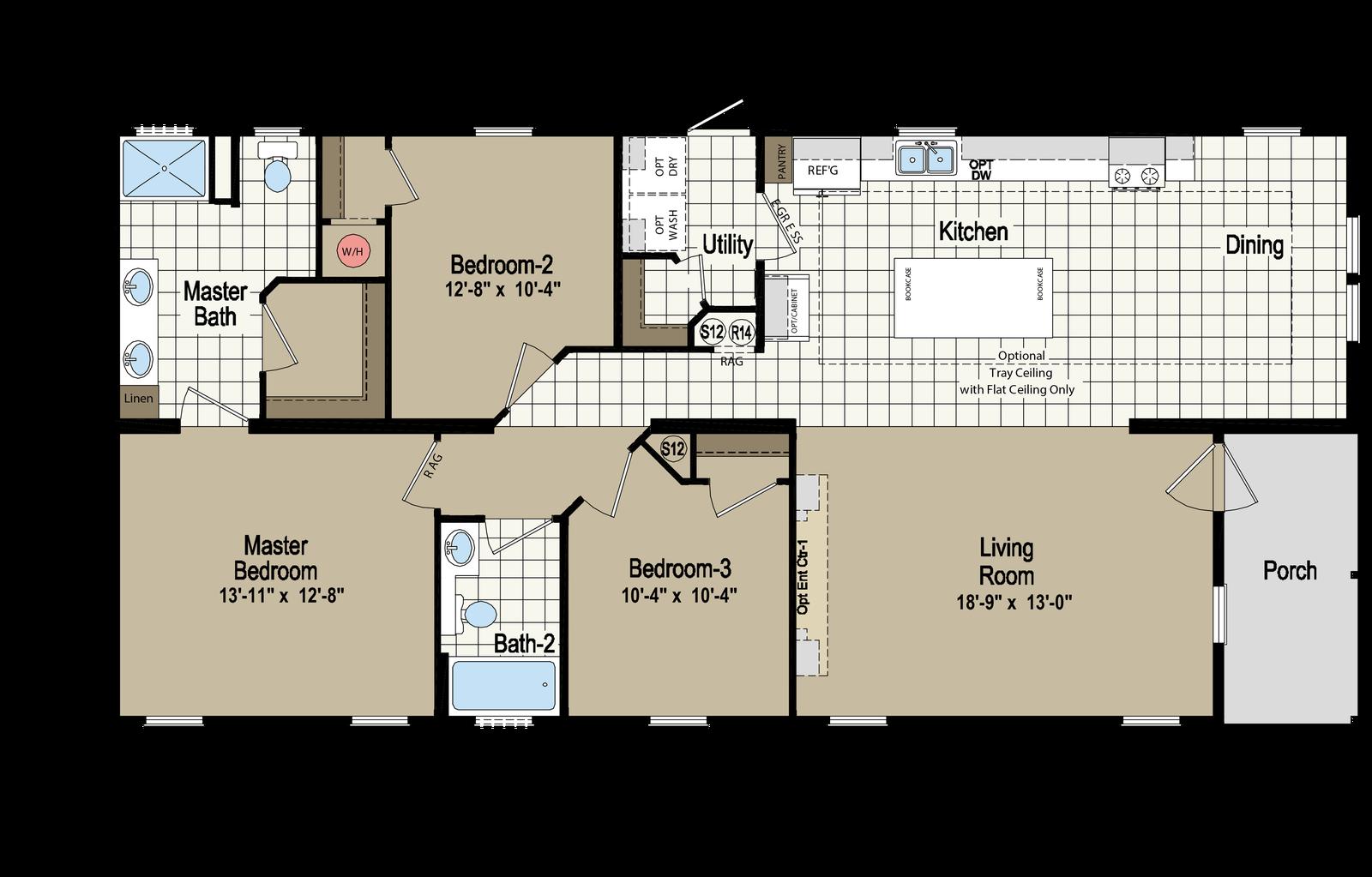 Homes Of Merit >> Homc 4563b Built By Homes Of Merit In Lake City Fl View