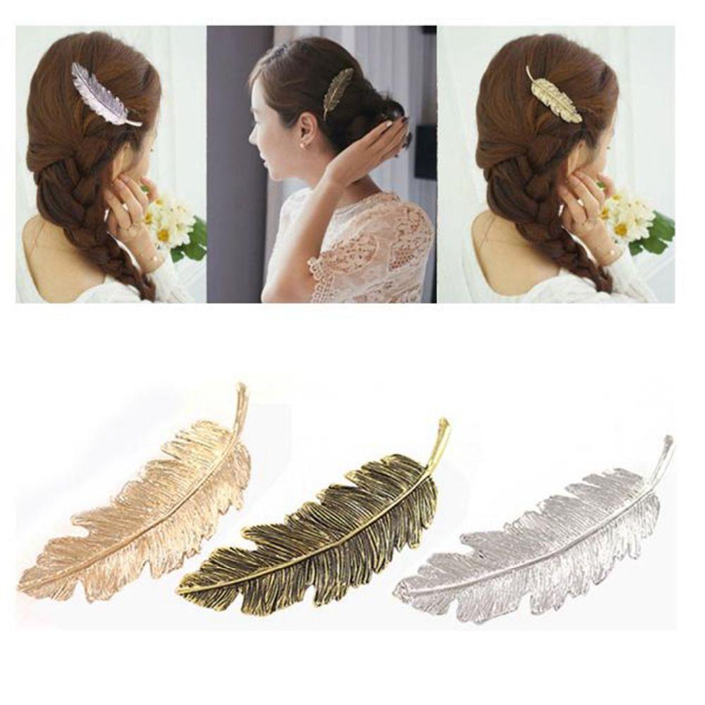 >> Click to Buy << Fashion Women Girls Leaf Hair Pins Clip Hair Claw Barrettes for girl hair Accessories head band acessorio para cabelo #4 #Affiliate