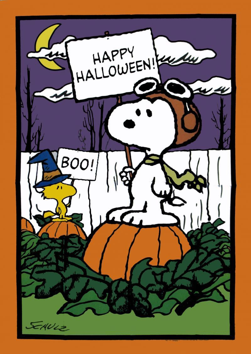 Halloween Snoopy Pictures