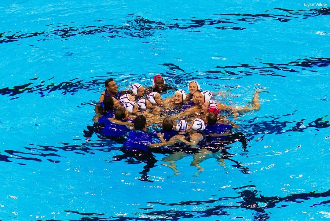 Team USA - CONGRATS to the Women's @USAWP on winning GOLD after defeating Italy 12-5! #GoTeamUSA 🇺🇸